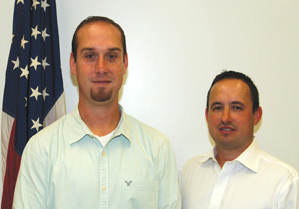 Hagerstown Police Department Detectives Anthony Fleegal and Jesse Duffey