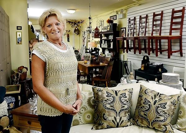 Anne Paylor owns The Hip Hydrangea, which opened Aug. 15 at 13 N. Main St. in Mercersburg Pa.