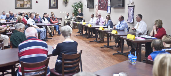 Danville City Commission candidates share ideas in forum