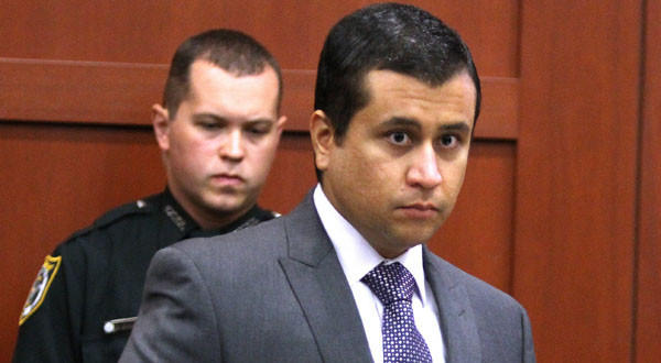 George Zimmerman, accused of murder in the shooting of Trayvon Martin, at a bond hearing in June.
