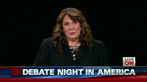 Candy Crowley at Tuesday's debate