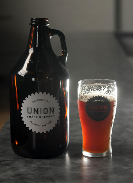 Balt Altbier, a German-style dark, copper ale, from Woodberry's Union Craft Brewing.