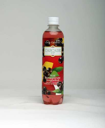 """<b>Cascade Ice Acai Blueberry Pomegranate</b> (sweetened with sucralose): """"I enjoy this as a less sugary option to fruit juice. It's light but still has the berry taste."""""""