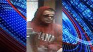 The Franklin Police Department is searching for the suspect in an armed bank robbery Wednesday afternoon.