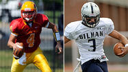 Varsity Football Game of the Week: No. 1 Gilman (5-2, 3-0) at No. 2 Calvert Hall (6-1, 2-0)