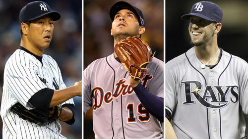 Unrestricted free agent starters: Ryan Dempster, Hiroki Kuroda, Shaun Marcum, Anibal Sanchez, Joe Blanton and Kyle Lohse.<br>