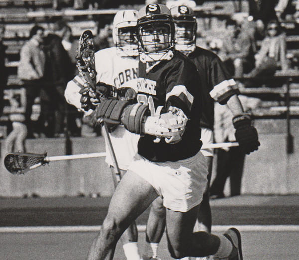 Former Syracuse midfielder John Schimoler was a member of the school's 1983 NCAA Division I championship team.