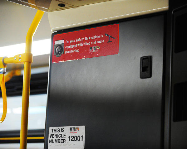 The MTA has begun activating audio recording on video cameras on buses to help police, insurance investigators and customer service reconstruct incidents. The first 10 buses are on the street, each with signs alerting passengers.