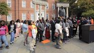 Baltimore youth jail protesters bring case to State House