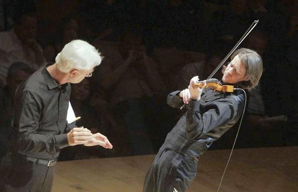 John Adams conducts the L.A. Philharmonic and violinist Thomas Gould in a Green Umbrella program.