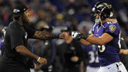 Terrell Suggs joins Ravens for his first practice of the season