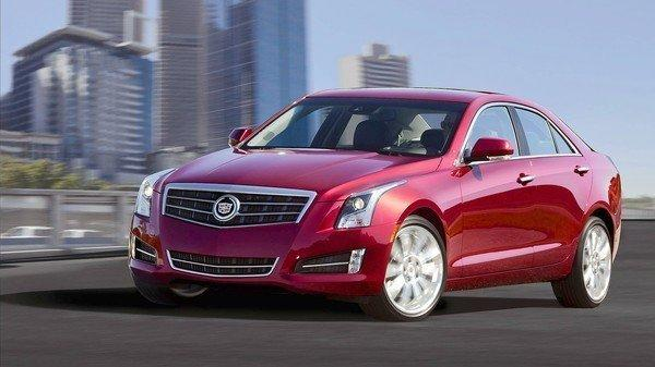 Cadillac makes a right turn with 2013 ATS