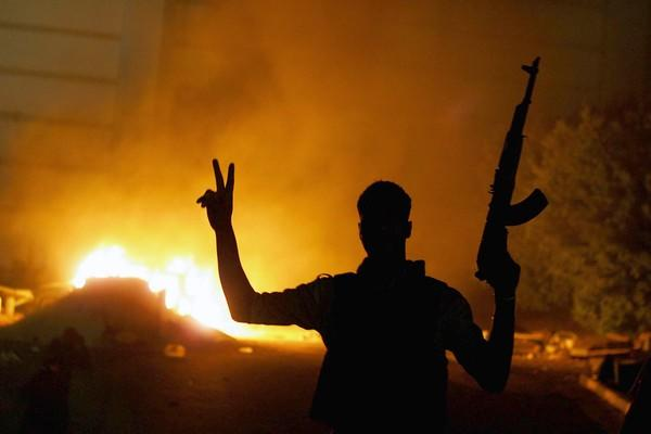 In Benghazi, Libya, the headquarters of Ansar al Sharia, an Islamist militia and social organization, was targeted in popular protests against the deadly Sept. 11 attack on the U.S. diplomatic mission.