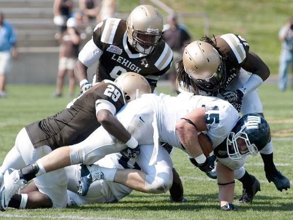Lehigh University #29 Isaiah Campbell.