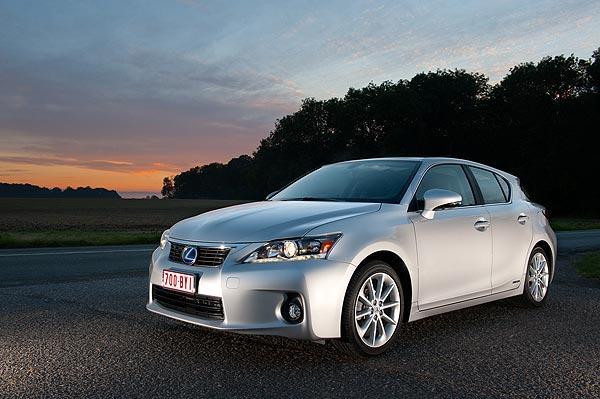 The Lexus CT200h