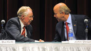 Delaney, Bartlett spar on economy, immigration