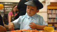 CALEXICO — Ghosts, superheroes, Tinkerbells and frogs roamed between bookcases Wednesday evening at the Camarena Memorial Library as it hosted its annual Halloween Family Night.
