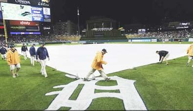 Rain delay Wednesday for Detroit Tigers