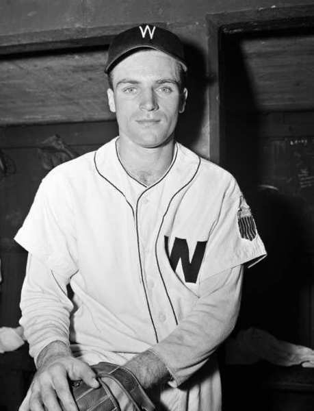 Eddie Yost with the Washington Senators in 1947.