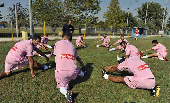 The amateur Voukefalas soccer club in Greece now practices in pink jerseys featuring logos such as Villa Erotica and Soula's House of History after accepting sponsorship offers from brothels. Though prostitution is legal in Greece, the shirts have been banned during games because of their suggestive nature. Another team, Paleopyrgo, paired up with a funeral home and now plays ball in black shirts emblazoned with crosses.