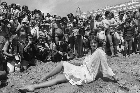 Dutch actress Sylvia Kristel, seen here in 1977 at the Cannes Film Festival, died in her sleep overnight after suffering from cancer, her agent said.