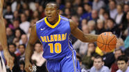 "There's a good chance you would have run into <a href=""http://www.bluehens.com/teams/mens-basketball/info/rosters/2013/saddler.html"" target=""_blank"">Devon Saddler</a> this summer if you wandered into the Bob Carpenter Center most days at 6 a.m. If you came back at 11 a.m., the Aberdeen grad would likely still have been on the court at Delaware's basketball facility."