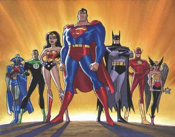 "The animated ""Justice League"" TV series"