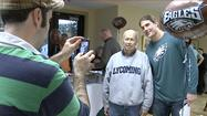 This week on Eye on the E-A-G-L-E-S! we head up to Hope Lodge in Northeast Philly where Eagles wide receiver Riley Cooper helps patients smile in the face of cancer.