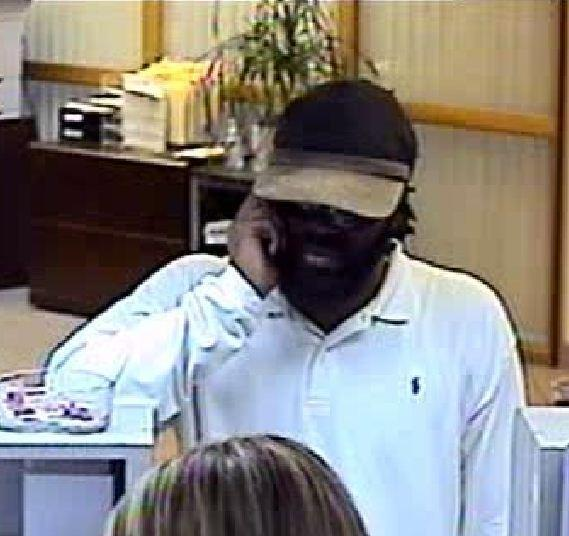 The FBI is looking for a man who robbed a Bank of America branch in Dania Beach