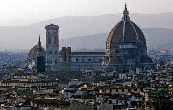 The Duomo in Florence, one of three cities in Italy included in a hotel-rail package from Virgin Vacations.