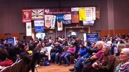 "The 2012 convention of the Alaska Federation of Natives got under way in Anchorage Thursday as community leaders and politicians alike addressed its theme, ""Success Beyond Barriers."""