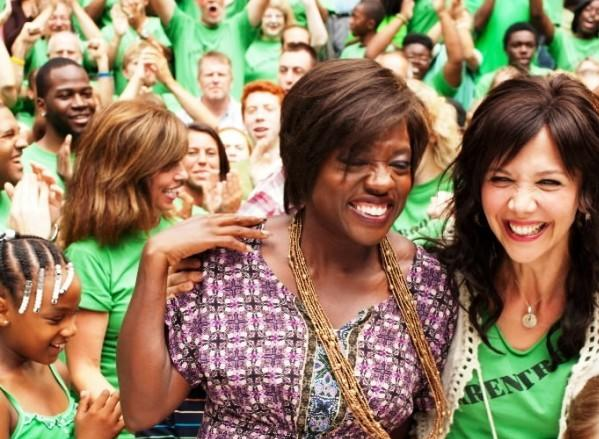 "Viola Davis co-starred in ""Won't Back Down."""
