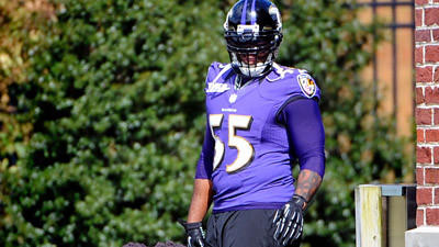 Terrell Suggs says he is taking his return to the field 'day-by…