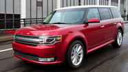 Ford's quirky Flex station wagon finds niche in California