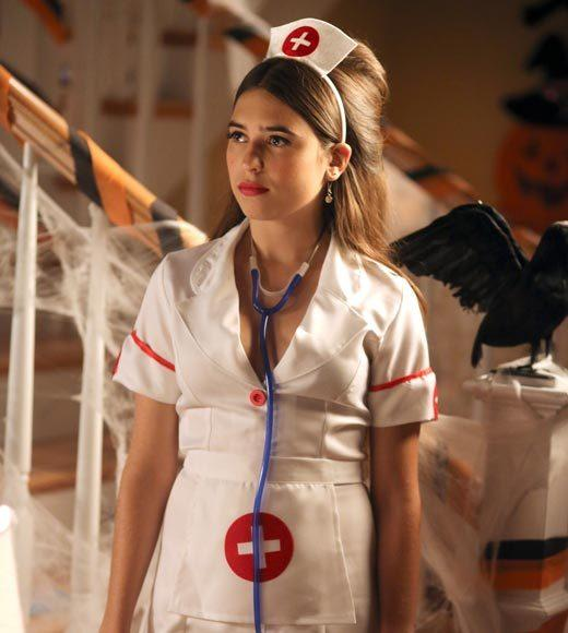 'Happy Endings' and more: Halloween on TV 2012: Since arriving on Earth, the aliens - led by the Bird-Kersees - have viewed Halloween as a threat and have set up a barrier at the gates of Hidden Hills to prevent children dressed in costumes from entering the community. The Weavers, on the other hand, are excited about their first Halloween in the suburbs and want to open the gates of the community to celebrate. They do their best to explain the ritual of trick-or-treating to the aliens. Meanwhile, Marty and Debbies fears are realized when Amber, Max and Abby reject their family costume plans.  Airs: Wednesday, Oct. 24 at 8:30 p.m. ET/PT on ABC.
