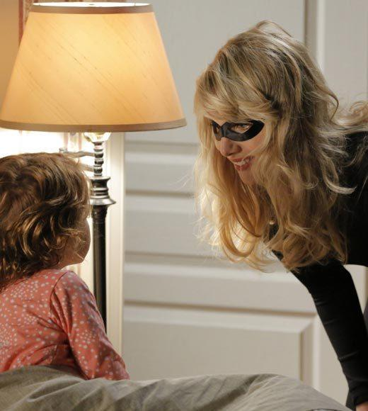 'Happy Endings' and more: Halloween on TV 2012: At a neighbors Halloween party, Kate (Dakota Johnson) ventures outside her comfort zone.  Airs: Tuesday, Oct. 30 at 8:30 p.m. ET/PT on FOX.