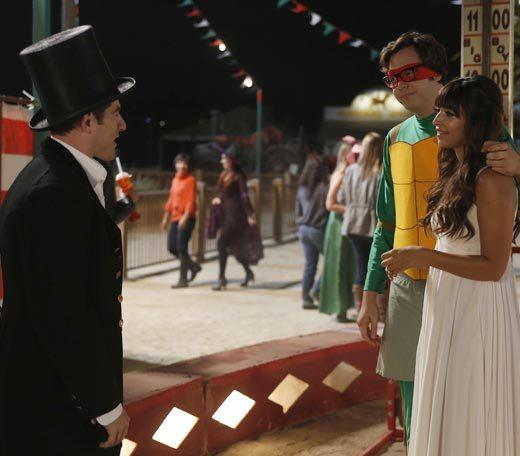 'Happy Endings' and more: Halloween on TV 2012: Robby (guest star Nelson Franklin) stands up for himself when Schmidt (Max Greenfield) tries to convince him he isnt good enough for Cece, and Schmidt comes to terms with Cece and Robbys relationship.  Airs: Tuesday, Oct. 30 at 9 p.m. ET/PT on FOX.