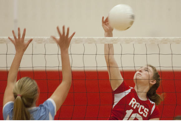 Roland Park vs. St. Timothy's volleyball