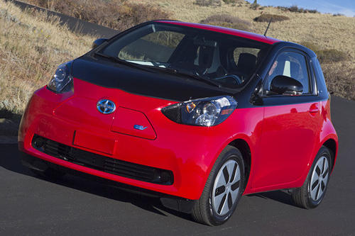 Toyota¿s youth-oriented brand has announced it will make about 90 all-electric versions of its thumbnail-sized iQ minicar for use in car-share programs (like ZipCar) in cities and campuses around the U.S.