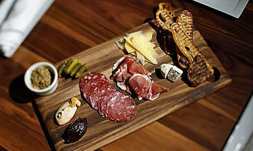 Westside Tavern does a fine California cheese and cured meats platter, which changes depending on what's on hand.