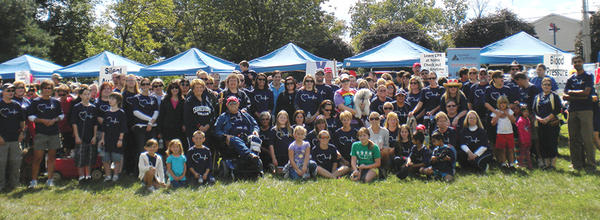Summit Healthwas represented by 219 participants in the American Heart Associations Mason-Dixon Heart Walk on Sunday, Sept. 23, in Greencastle, Pa.
