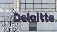 — Deloitte, a giant international accounting, consulting and financial advising firm, will receive between $9 million and $14.5 million in state tax dollars to expand its workforce in Connecticut over the next 61/2 years, the governor announced Wednesday.