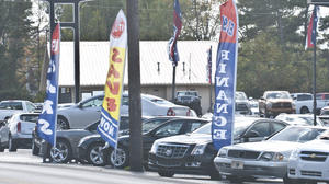 Boyle car dealership appeals order to remove signs