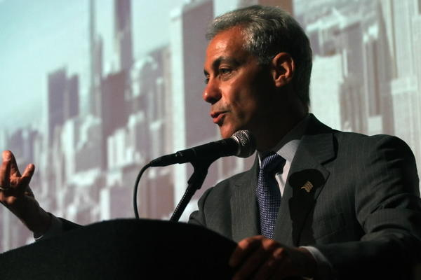 Mayor Rahm Emanuel talks about Chicago Cultural Plan.