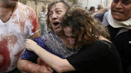 Photos: Beirut street bombing
