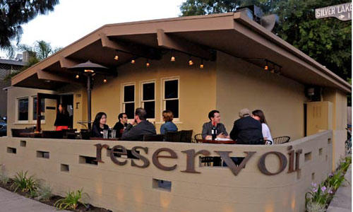 Reservoir, owned by chef Gloria Felix, is a new restaurant in Silver Lake, located where the old Netty's used to be on Silver Lake Boulevard.