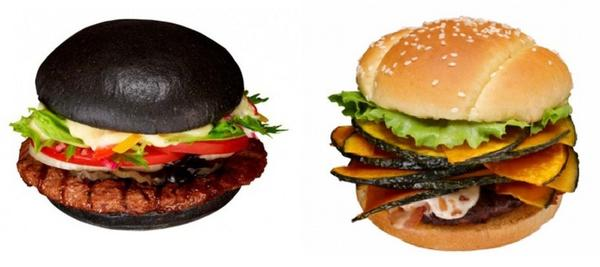 Burger King Japan is making a name for itself with fanciful creations. First came the Kuro Burger, a sandwich with black buns darkened by stirring bamboo charcoal into the dough. The chain also sells the seasonal Pumpkin Burger, which pops slices of kabocha in with the standard burger trappings.