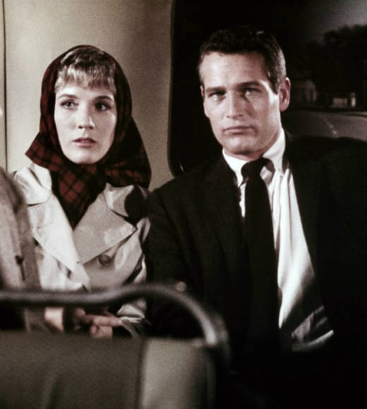 "Andrews starred opposite Paul Newman in ""Torn Curtain."""