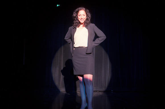 Diana Martinez in 2002 at the Paramount Theater in Aurora.