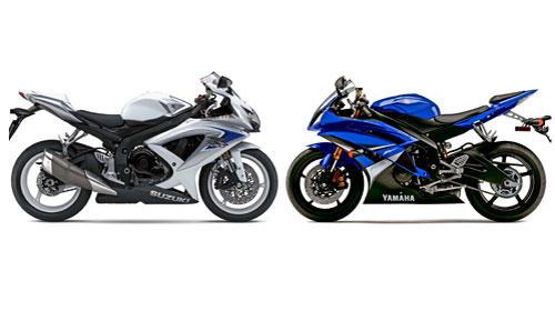 Suzuki Gsxr 600 Vs Yamaha R6 - David Batty: The Garage